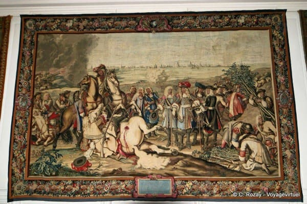 Tapeçaria de Gobelins no Palácio de Versalhes