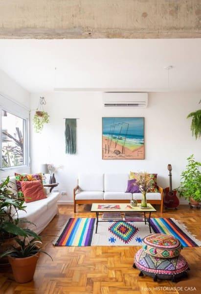 Tipos de tapeçaria: tapeçaria no piso (foto: História de Casa)