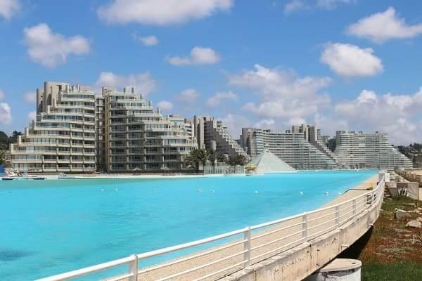 Maior piscina do mundo: hotéis (foto: Wikipédia)