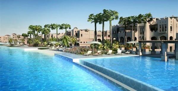 Maior piscina do mundo menção honrosa: Citystars Sharm El Sheikh - detalhes do condomínio