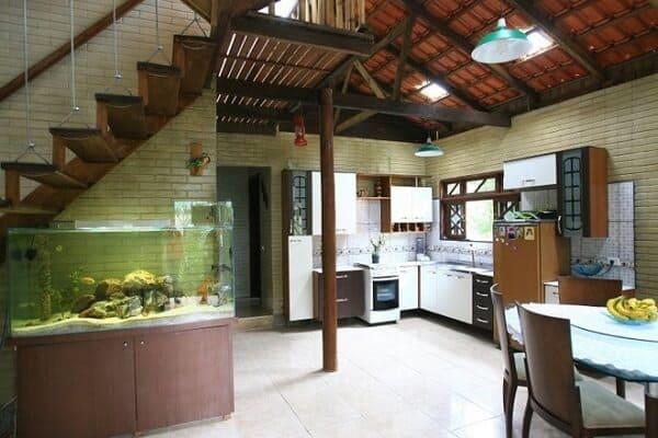 Tijolo ecológico se adapta perfeitamente as construções e decorações rústicas (Foto: Gazeta do Povo)
