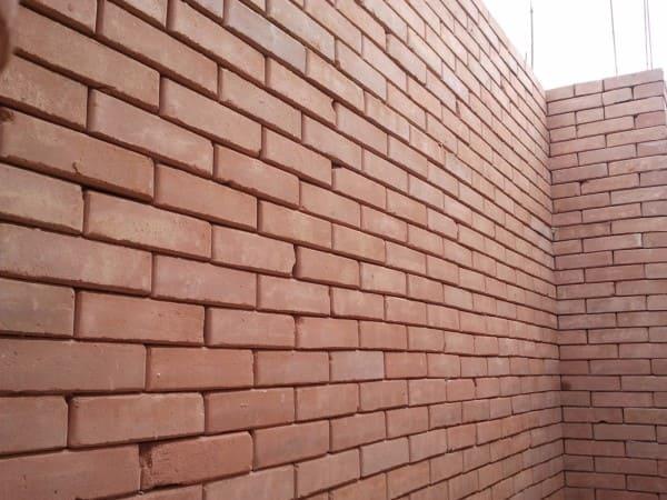 Tijolo ecológico: espessura das paredes (foto: construindo e ampliando com tijolo ecológico tijolo)