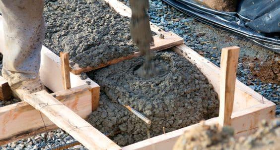 Viga baldrame: concretagem (foto: aecweb.com.br)