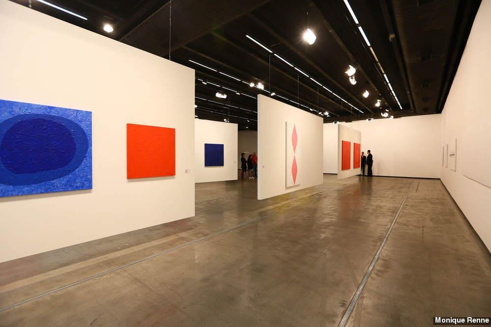 Instituto Tomie Ohtake: área de exposição (foto: Monique Renne)