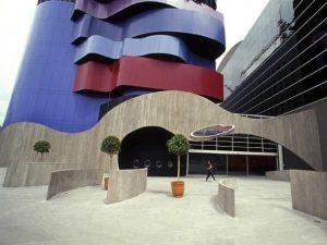 Instituto Tomie Ohtake entrada do museu foto Rede Globo