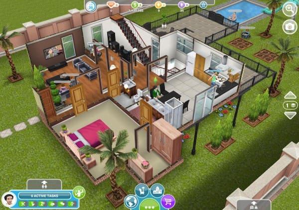 Jogos de decoração: The Sims - Free Play