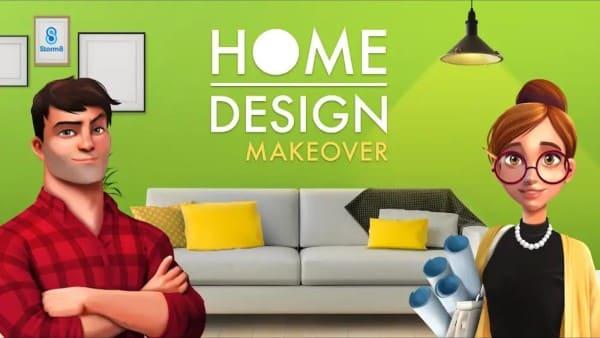Jogos de decoração: assistentes do Home Design Makeover