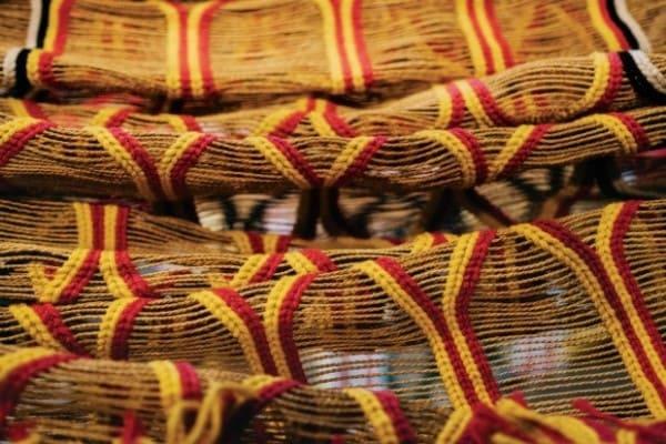 Artesanato Brasileiro: Redes feitas no Xingu (foto: Casa Vogue)