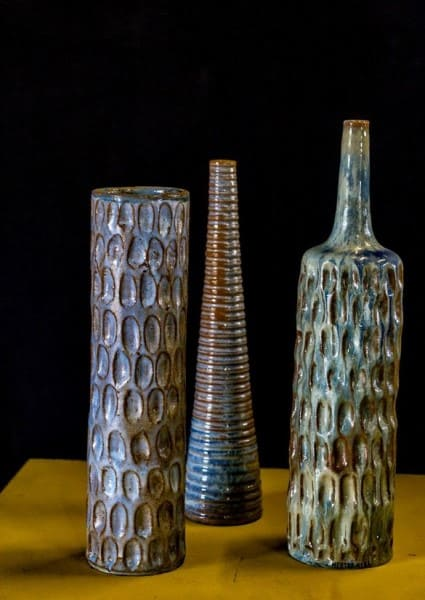 Artesanato Brasileiro: vasos do Mestre Nena (Severino Antonio de Lima) - Foto: Artesol