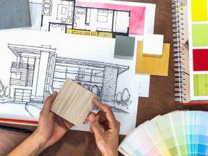 Conheça as diferenças entre as profissões de arquitetura e design de interiores. Fonte Pinterest