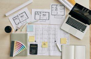 Um bom notebook é um dos materiais do curso de Arquitetura