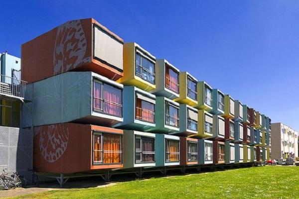A arquitetura modular para habitação é uma ótima alternativa visto a agilidade desse modelo de construção