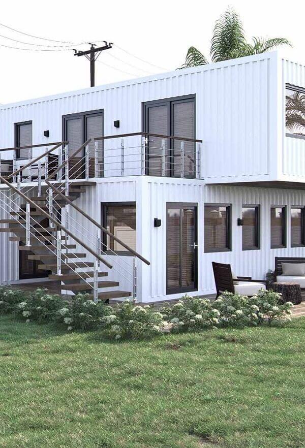 A arquitetura modular se trata de um modelo de construção onde a obra é fabricada em módulos individuais