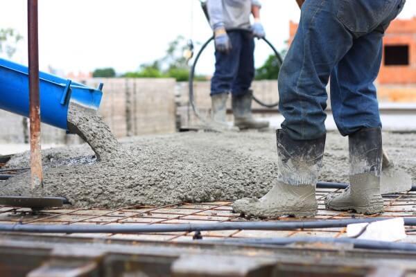 O que é concreto usinado: aplicação (foto: Ambar Tech)