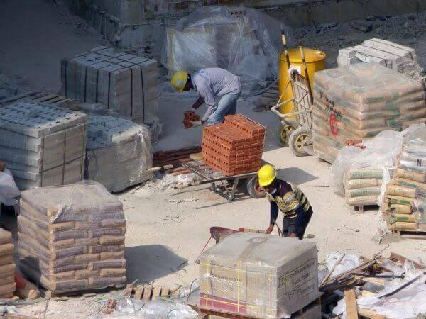 Concreto usinado evita acúmulo de materiais na obra (foto: Buildin)
