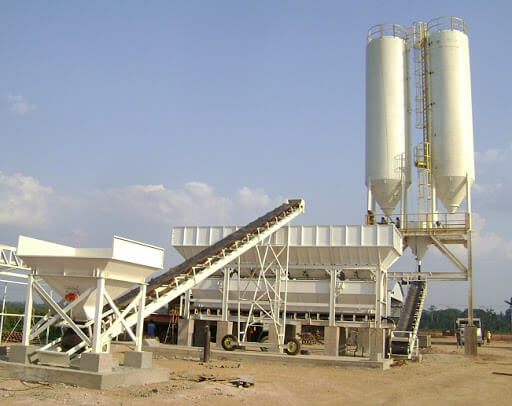 Concreto usinado: usina de concreto (foto: Amplytude - Equipamentos Rodoviários)