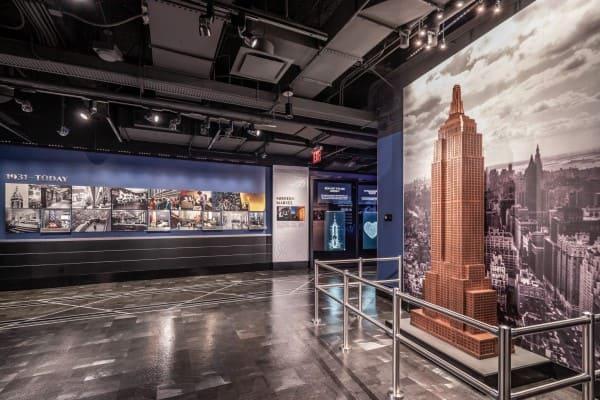 Empire State Building: exposição conta a história do edifício (foto: Ares do Mundo)
