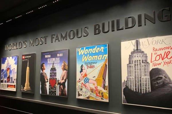 Empire State Building: exposição mostra os filmes em que o edifício aparece (foto: Dicas Nova York)