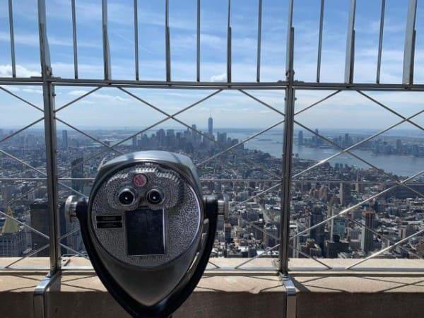 Empire State Building: observatório no 86º andar (foto: Nova York e Você)