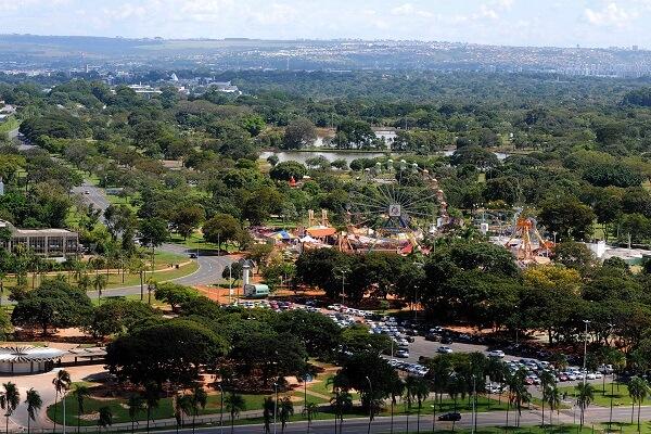 O Parque da Cidade é considerado o maior parque urbano do mundo