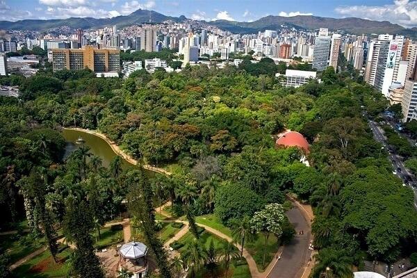 Parque Municipal de Belo Horizonte é também conhecido como Parque Municipal Américo Renê Giannetti