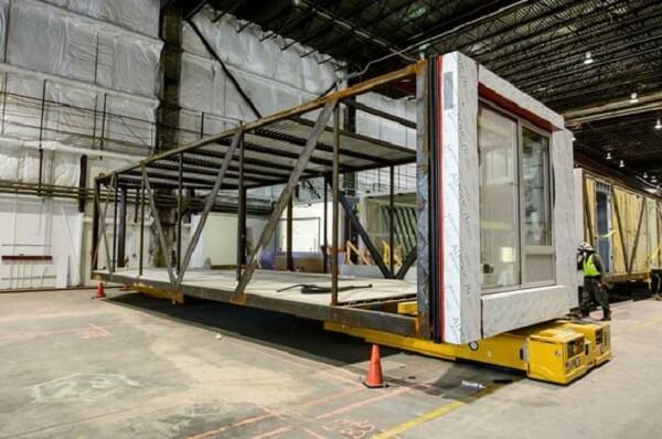 A arquitetura modular certamente irá promover a redução de custos da sua obra