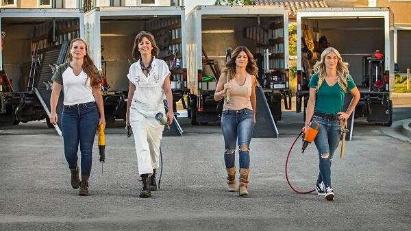 Mulheres à Obra é um dos programas de reforma de casas que contam com um time de competidoras de elite
