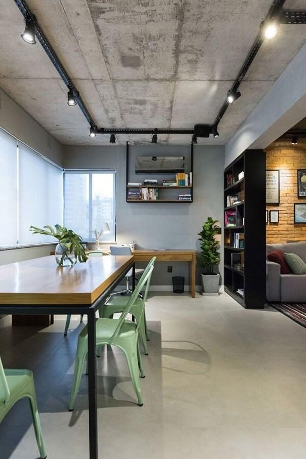 Os tipos de forro de concreto aparente se conectam com o estilo industrial