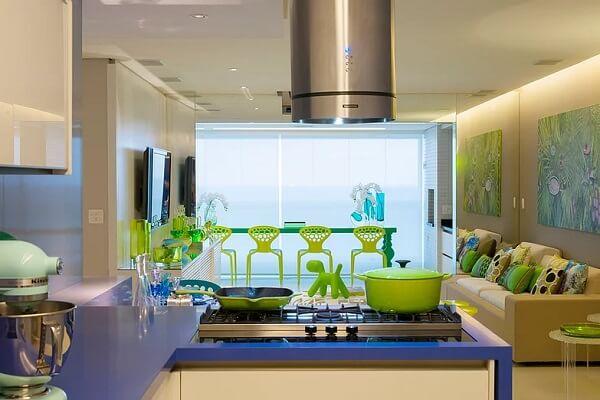 Projeto residencial de Brunete Fraccaroli: Apartamento no Guarujá