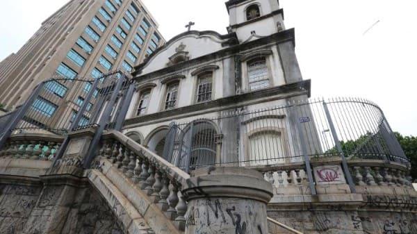 Arquiteto Tebas: fachada da Igreja da Ordem Terceira do Carmo (foto: Rivaldo Gomes Folhapress)