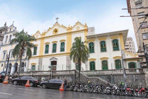 Arquiteto Tebas: Igreja das Chagas do Seráfico Pai São Francisco, no centro de São Paulo (foto: Veja SP)