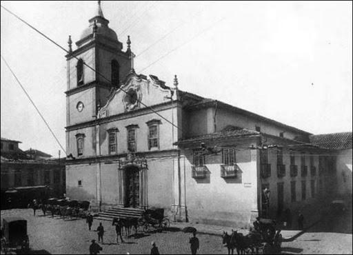 Arquiteto Tebas: torre da antiga igreja da Sé (foto: Arte Fora do Museu)