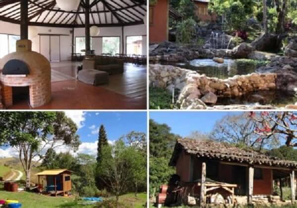 A Ecovila Viver Simples localizada no município de Itamonte, em Minas Gerais