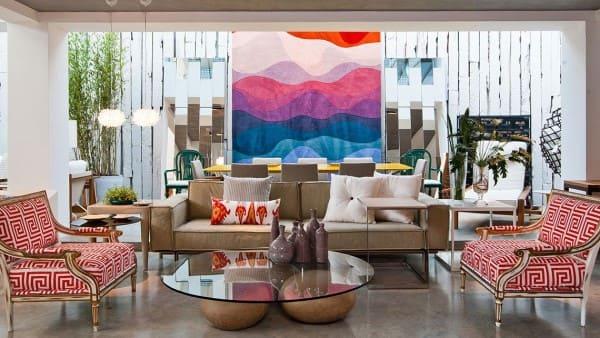 Estilos de casas: sala de estar com decoração contemporânea (projeto: Bruno Carvalho)