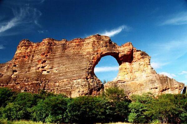 O Parque Nacional Serra da Capivara também ganhou status de patrimônio histórico em 1991
