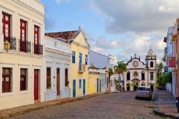 O centro histórico da cidade de Goiás também foi nomeado como patrimônio histórico brasileiro