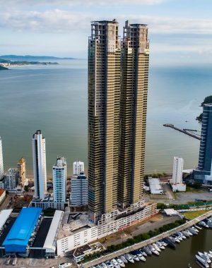 O prédio mais alto do Brasil conta com 81 andares e apresenta cerca de 281 metros de altura. Foto: Divulgação Pasqualotto & GT Empreendimento