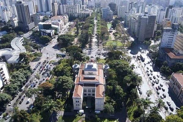 O que são metrópoles: Belo Horizonte (foto: g1)
