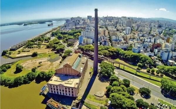 O que são metrópoles: Porto Alegre (foto: CAU/RS)