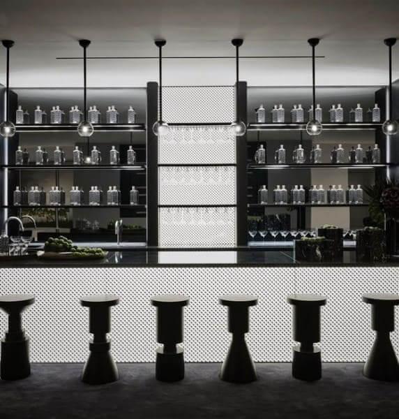 Casa mais cara do mundo: bar (foto: Casa e Jardim)