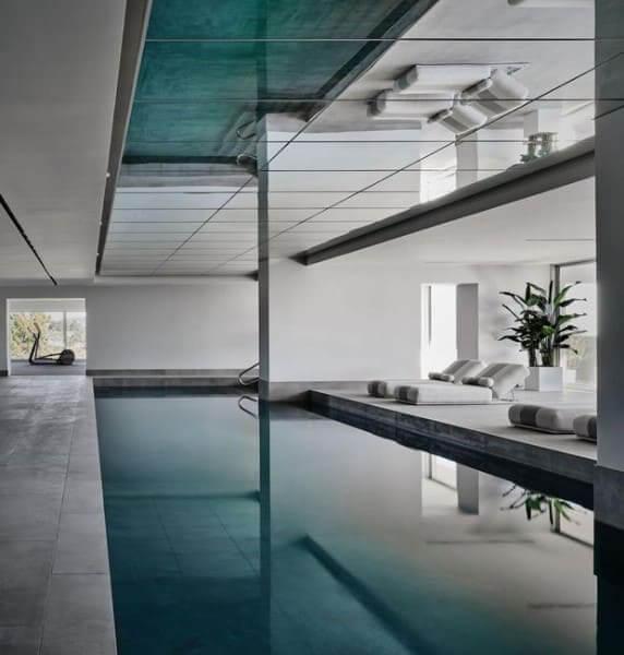 Casa mais cara do mundo: piscina interna (foto: Casa e Jardim)