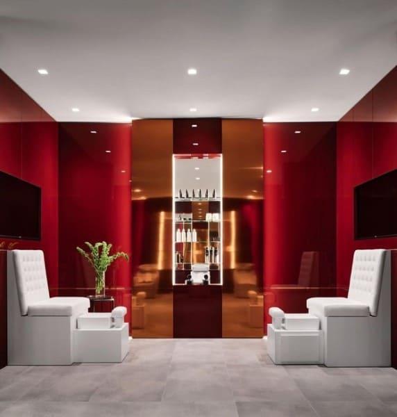 Casa mais cara do mundo: salão de beleza barra spa (foto: Casa e Jardim)