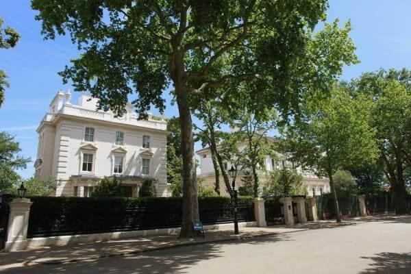 Casas mais caras do mundo: Kensington Palace Gardens, Londres, Inglaterra (foto: Blog da Proprietário Direto)