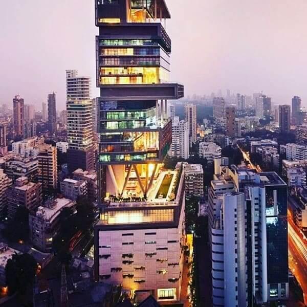 Casas mais caras do mundo: The Antila, localizada em Mumbai, na Índia (foto: Gazeta do Povo)