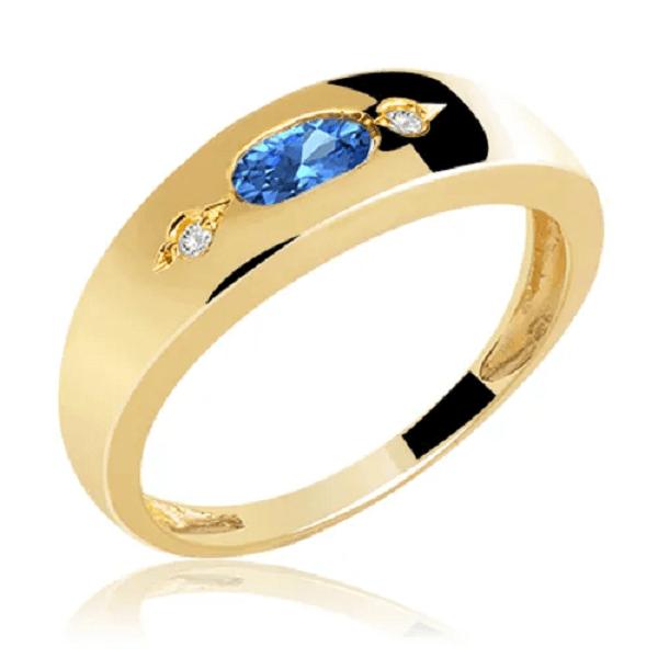 Modelo de anel delicado com símbolo da arquitetura. Fonte: Pinterest