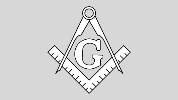 A letra G posicionada no centro do símbolo da arquitetura