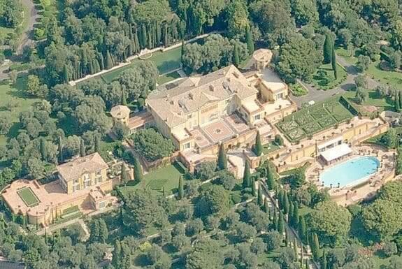 Casas mais caras do mundo: Villa Leopolda, na França (foto: Pinterest)