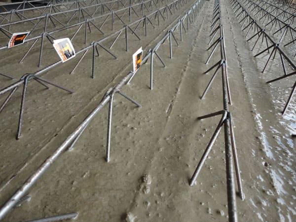 Treliça: exemplo de laje treliçada (foto: Tijolaje)