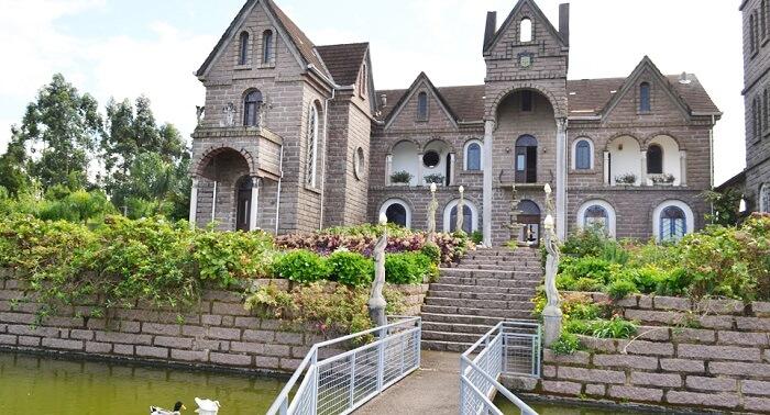Castelos no Brasil: Castelo Belvedere. Fonte: Rotas Santa Catarina