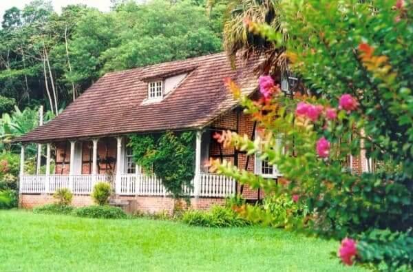 Enxaimel: casa em Gaspar - SC (foto: Arquivo da Prefeitura de Gaspar)